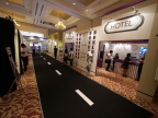 Hotel Zone at Panasonic Solutions Expo in Myanmar (Photo: Business Wire)