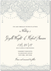 Lasting Lace wedding invitation by Mindy Weiss for Wedding Paper Divas (Graphic: Business Wire)