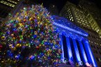 NYSE Tree Lighting 2015 (Photo: NYSE)