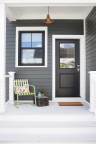 The Olympic paint brand's 2018 Color of the Year, Black Magic, is a classic statement for your home. (Photo: Business Wire)